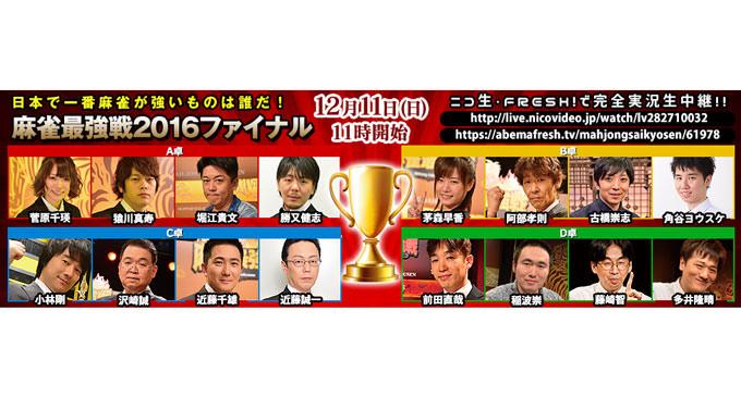 最強戦ファイナル 勝者予想アンケート実施中!