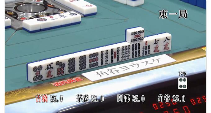 麻雀最強戦2016ファイナル 予選B卓での角谷ヨウスケプロの一打!