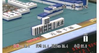麻雀最強戦2016ファイナル 予選C卓での近藤千雄プロの一打!