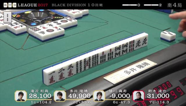RTDリーグ2017_BLACK_第2節9-10回戦_17_R