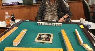 「まーちゃお下北沢店」での健康マージャンにて、97歳の女性が天和を和了!