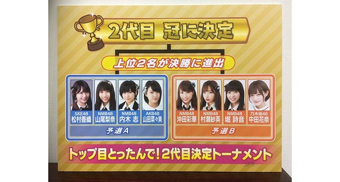 『NMB48須藤凜々花の麻雀ガチバトル!りりぽんのトップ目とったんで!』番組二代目決定トーナメントのメンバーが決定!