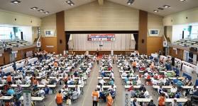ねんりんピック秋田2017健康マージャン交流大会 全国から68チーム総勢272名が参加